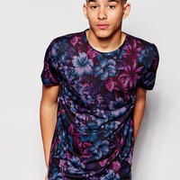 New Look | New Look T-Shirt with Floral Print at ASOS