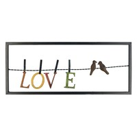 Stratton Home Decor Love Birds Wall Decor
