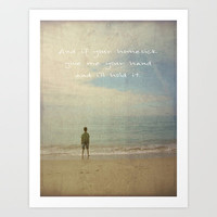 homesick Art Print by Steffi Louis-findsFUNDSTUECKE