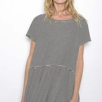 Amarante Striped Tee