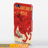 The Catcher In The Rye Cover iPhone 4/4S, 5/5S, 5C Series Full Wrap Case