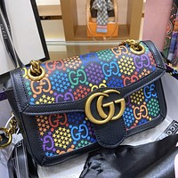 GUCCI 2020 New Women's Chain Bag Shoulder Bag Crossbody Bag