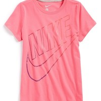 Girl's Nike 'Cat HBR Read' Graphic Tee,