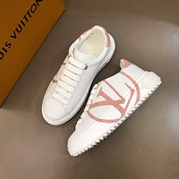 LOUIS mUIT*ON  Men Fashion Boots fashionable Casual leather Breathable Sneakers Running Shoes