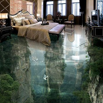 Beautiful Peak Cliff ~ Illusion Flooring