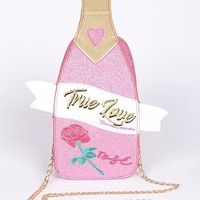 True Love Pink Celebration Sparkling Clutch