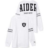 Oakland Raiders Bling Varsity Crew