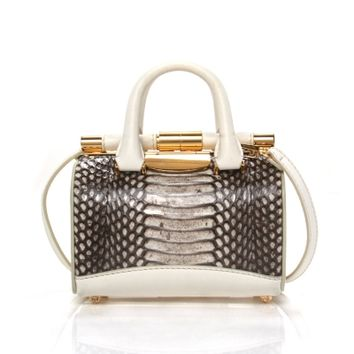 Tyler Alexandra Jamie Mini Doctor Bag - Shop Luxury Handbags | Editorialist