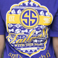 Tailgate With The Best   Simply Southern    PURPLE