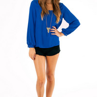 What A Zip Blouse $29