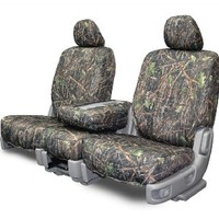 Custom Fit Seat Covers For Chevy/GMC Bench Style Seats Conceal Camouflage Fabric