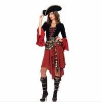 Sexy Pirate Halloween Costume For Women