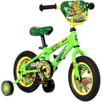 12 Inch Teenage Mutant Ninja Turtles Bike Bicycle with Training Wheels, Tricycle