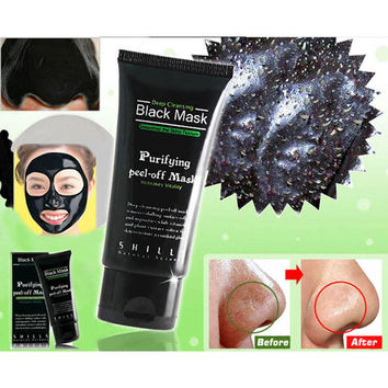 Black Mask Face Mask Blackhead Remover Deep Cleansing Purify