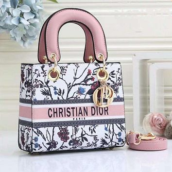 Dior women's fashionable handbag shoulder bag