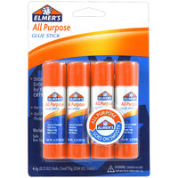 Elmer's All-Purpose Glue Sticks 4/Pkg-.21oz