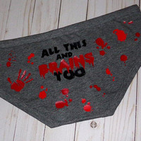 All This And Brains Too | Period Panties | Underwear