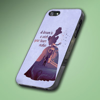 Cinderella Quote Disney - Hard Case Made From Plastic or Rubber - For iPhone 4/4s, 5, 5c, 5s, iPod 4, 5, Samsung S3, S4