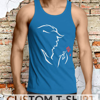 Beast from Beauty and The Beast Disney  Men Tanktop - Lzi Tanktop For Men  / Custom - Tanktop / Men Tanktop