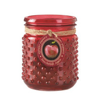 Macintosh Apple Hobnail Jar Candle