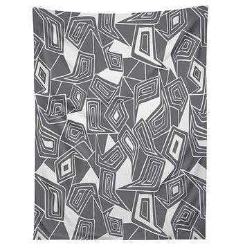 Heather Dutton Fragmented Grey Tapestry