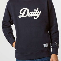 DAILY PAPER NAVY SWEATSHIRT