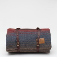 Pendleton / Red Camp Blanket with Carrier