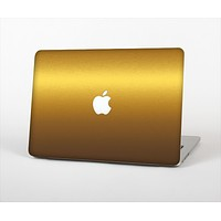 """The Gold Shimmer Surface Skin Set for the Apple MacBook Pro 13"""""""