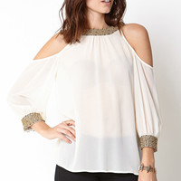 Classic Beauty Chiffon Blouse