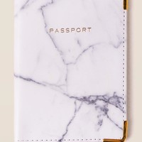 Pax Marble Passport Cover