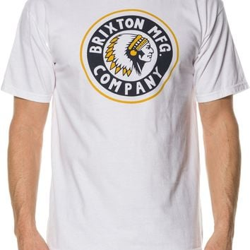 BRIXTON RIVAL SS STND TEE