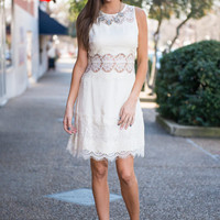Infinite Beauty Dress, Cream