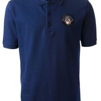 Givenchy Dog Emblem Polo Shirt