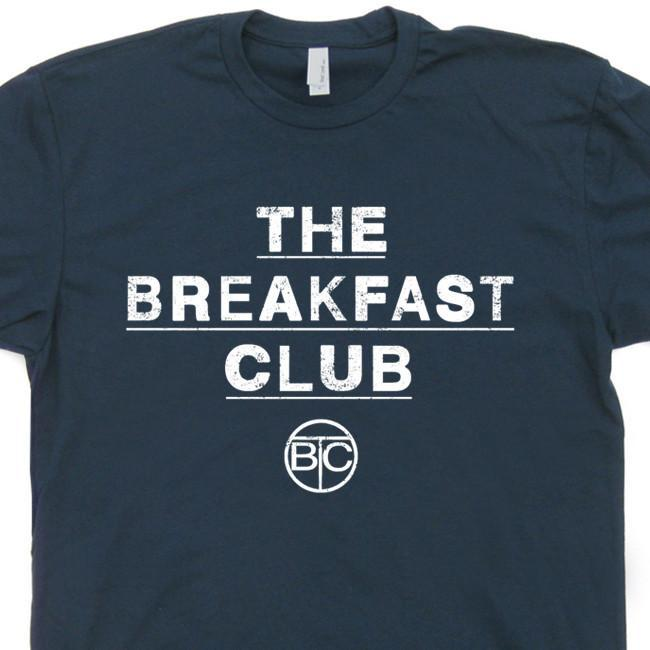 Image of The Breakfast Club T Shirt Vintage 80s Movie T Shirt Tees Cool Movie T Shirts