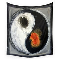 Society6 Yin Yang Wall Tapestry