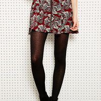 Staring at Stars Zip-Through Skirt in Paisley - Urban Outfitters