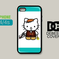 Hello Kitty Daryl Dixon iPhone Cases