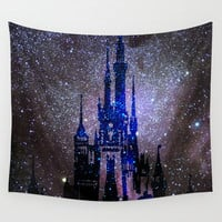 Fantasy Disney Wall Tapestry by Guido Montañés