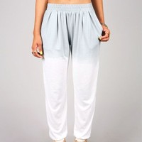 Washed Off Harem Pants | Trendy Pants at Pink Ice