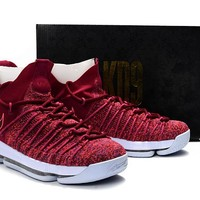 Nike Zoom KD 9 Wine Red Basketball Shoe