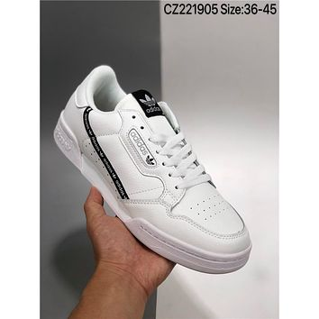 Adidas CONTINENTAL80 cheap Fashion Men's and women's adidas shoes