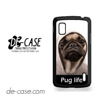 New Design Funny Hilarious Pug Life Parody Fans For Google Nexus 4 Case Phone Case Gift Present