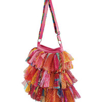 Fire Shaggy Tote