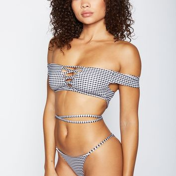 Shiloh Top - Gingham