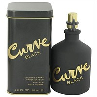 Curve Black by Liz Claiborne Cologne Spray 4.2 oz for Men