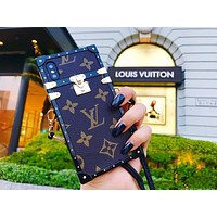 LV Hot ! iPhone X iPhone 8 iPhone 8 Plus - Women Men Case Coffee