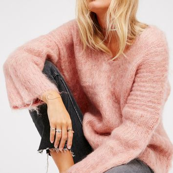 Free People Brice Knitted Sweater