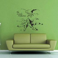Lonely Mountain - Hobbit Wall Decal - Extra Large