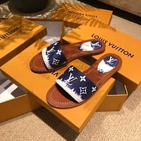 LOUIS VUITTON LV New classic slippers in spring and summer