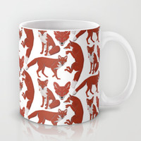 Fox Mug by Natalie Bates | Society6